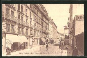 AK Paris, Rue Cler, prise rue de Grenalle, Les Ecoles
