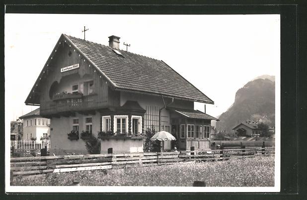 AK Kufstein, Ortspartie mit Landhaus Möst