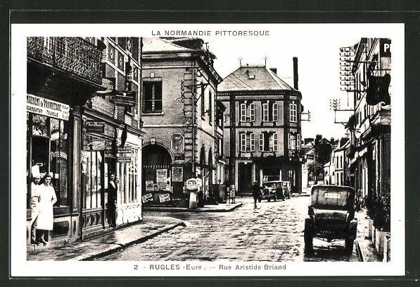 AK Rugles, Rue Aristide Briand
