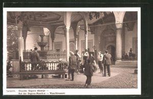 AK Sarajewo, Dvoriste Begove dzamije, Hof der Begova-Moschee, Waschbrunnen