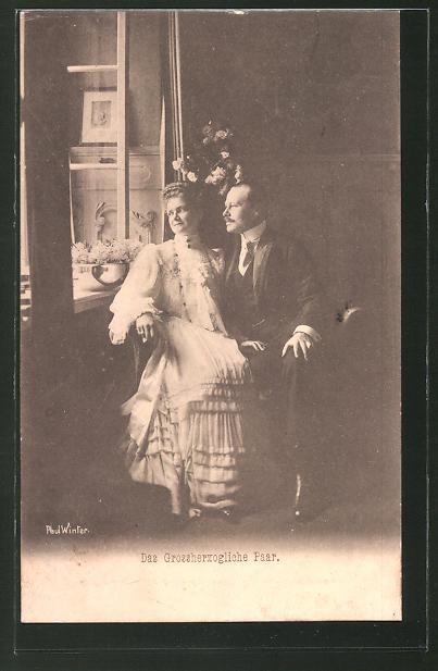 AK Das Grossherzogliche Paar von Hessen-Darmstadt