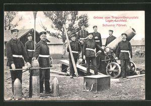 AK Lechfeld, Truppenübungsplatz Lager-Lechfeld, Schwerer Mörser