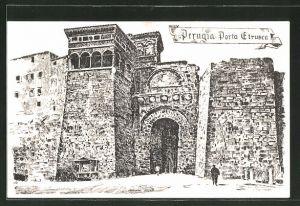 AK Perugia, Porta Etrusca