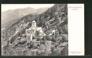 AK Mauls, Blick zum Schloss Welfenstein
