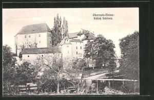AK Meran-Obermais, Blick auf das Schloss Schönna