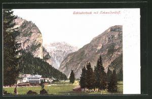 AK Schluderbach, Teilansicht gegen Schwalbenkofl