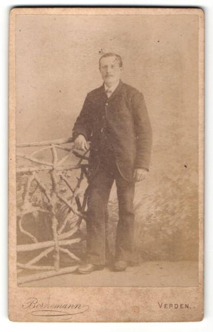 Fotografie Bornemann, Verden, Portrait Herr in Anzug