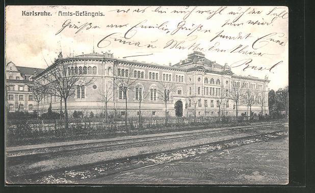 AK Karlsruhe, Amts-Gefängnis