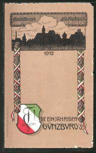 Künstler-AK Günzburg, Absolvia 1912