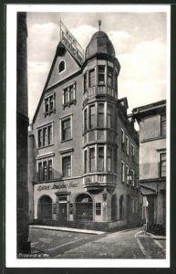 AK Boppard, Hotel Deutsches Haus, Oberstrasse 28