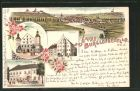 Bild zu Lithographie Burg...