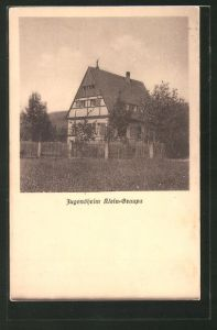 AK Klein-Graupa, Blick zum Jugendheim
