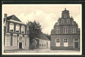 AK Oldenzaal, Marktstraat met oudste Gevels van Oldenzaal