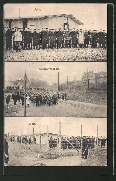 AK Merseburg, Gefangenen-Lager, Wache, Russentransport, Lager
