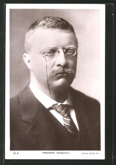 AK President Roosevelt, Präsident der USA