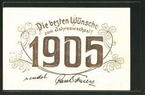AK Jahreszahl 1905