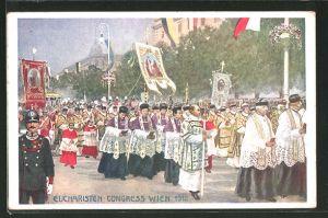 AK Wien, Eucharisten Kongress 1912