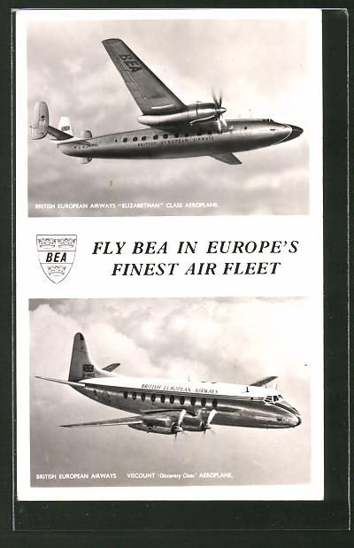 AK British European Airways