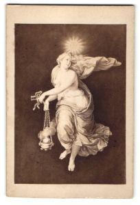 Fotografie Verlag Ernst Arnold, Dresden, Gemälde von Raphael: Die dritte Stunde des Tages