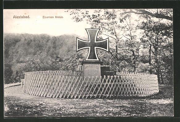 AK Alexisbad, Eisernes Kreuz, Nagelung