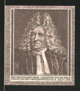 Notgeld Halle an der Saale, 20 Pfennig, Christian Thomasius