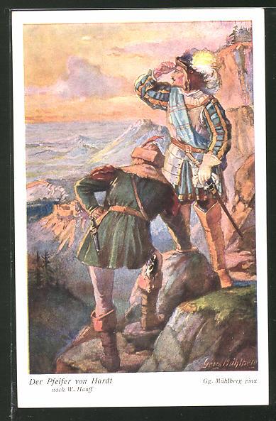 Künstler-AK Georg Mühlberg: