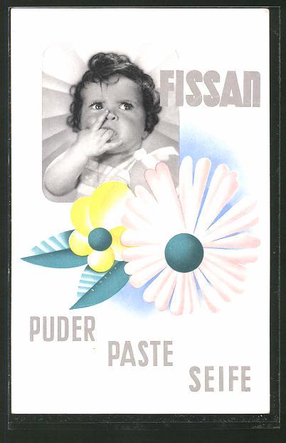 AK Fissan, Puder - Paste - Seife