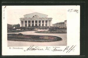 AK St. Petersbourg / St. Petersburg, la Bourse / Börse