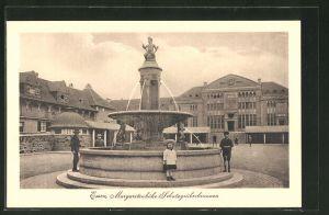 AK Essen, Margaretenhöhe, Schutzgräberbrunnen