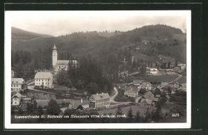 AK St. Kathrein am Hauenstein, Ortsansicht aus der Vogelschau