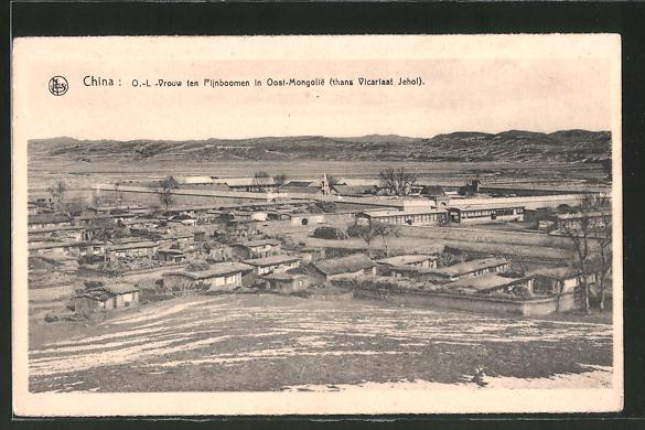 AK Oost-Mongolie, O.-L -Vrouw ten Pijnboomen
