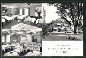 AK Moudon, Hotel-Restaurant Du Chemin de Fer Moudon