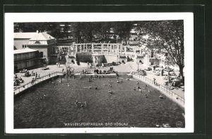 AK Bad Vöslau, Blick auf die Wassersportarena