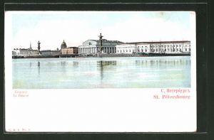AK St. Pétersbourg / St. Petersburg, la Bourse / die Börse