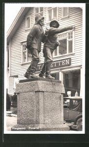 AK Haugesund, Fiskerne, Fischer-Denkmal