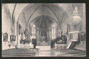 AK Bösensell, Inneres der Kirche