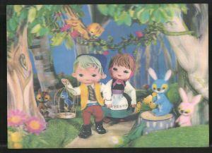 3D-AK Hänsel & Gretel im Wald