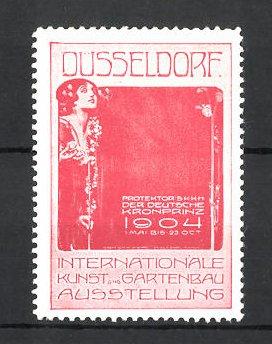 Gartenbau Düsseldorf reklamemarke düsseldorf internationale kunst und gartenbau