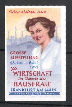 Reklamemarke Frankfurt/ Main, Grosse Ausstellung