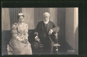 AK Grossherzogin Luise und Grossherzog Friedrich I. von Baden