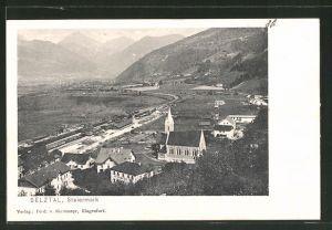 AK Selztal, Totale mit Bahnhof