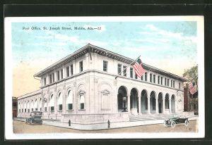 AK Mobile, Alabama, Post Office, St. Joseph Street