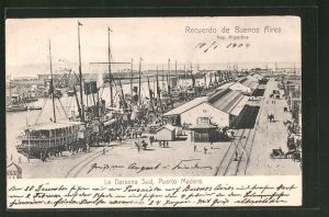 AK Buenos Aires, Puerto Madero, la Darsena sud