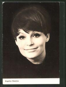 AK Schauspielerin Angelica Domröse, Portrait der Schauspielerin