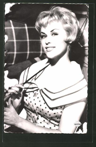 AK Schauspielerin Bibi Johns in dem Film