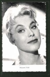 AK Schauspielerin Marianne Hold, Portraitaufnahme