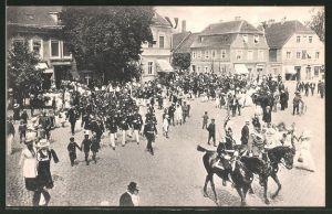 AK Lübben, Schützenfest, Festzug