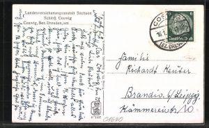 AK Coswig, Landesversicherungsanstalt Sachsen Schloss Coswig 1