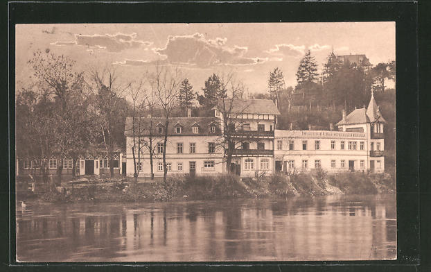 AK Naumburg, Blick auf das Sanatorium 0