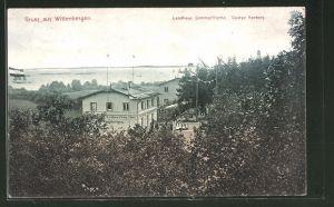 AK Hamburg-Wittenbergen, Gasthof Landhaus Sommerfrische von Gustav Herbers 0